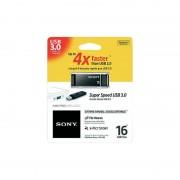 USB DRIVE, 16GB, Sony Microvault, USB3.0, Black (USM16GXB)