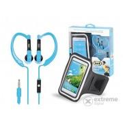 Suport telefon și căști intraauriculare TREVI JR 660, albastru