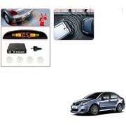 Auto Addict Car White Reverse Parking Sensor With LED Display For Maruti Suzuki SX4