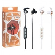 Signature Brand VMB-37 Model High Quality Wireless Bluetooth Headset with call functions for all smartphones