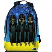 Sleevy laptop rugzak 17,3 Deluxe aapjes