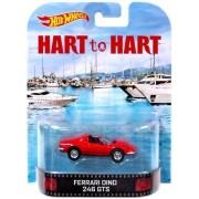 Hot Wheels Hart to Hart Ferrari Dino 246 GTS Die-Cast Retro Entertainment Series