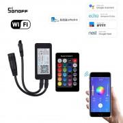 WiFi Inteligentný RGB LED ovládač + IR diaľkový ovládač