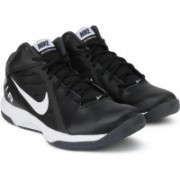 Nike THE AIR OVERPLAY IX Basketball Shoes For Men(Black)