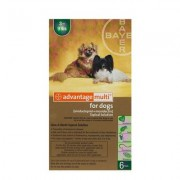 Advantage Multi (Advocate) Small Dogs 3-9 Lbs (Green) 6 Doses