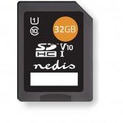 Nedis 32GB MSDC32100BK SDHC UHS-I CL10 memóriakártya