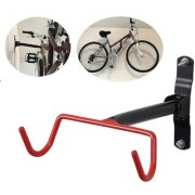 Aeoss SOLDIER Bicycle Cycle Mounting Rack Bike Bicycle Hook Holder Hanger Wall Storage Garage Racks Black Red