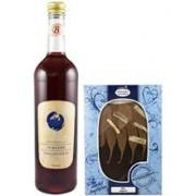 Vin de Porumbele 9%alc. si Ciocolata 750ml si 150gr Bavaria