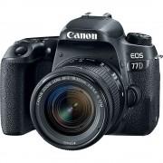Canon EOS 77D Aparat Foto DSLR 24.2MP CMOS Kit cu Obiectiv 18-55mm f/4-5.6 IS STM Negru