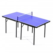 HOMCOM Folding Mini Ping Pong Table Set