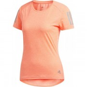 adidas Own The Run Shirt Women - Female - Roze - Grootte: Extra Large