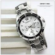 Rosra Men Full Stainless Steel Watch silver