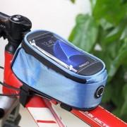 Roswheel - Fietshouder Frametas Groot Blauw (146 x 70mm)