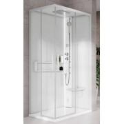 Novellini Hamman Glax 2 Boîte à remous et sauna 2.0 A 100X100 - Couleur: corde - TAPS: Mél