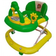 Ehomekart Green Dora Adjustable Musical Walker for Kids