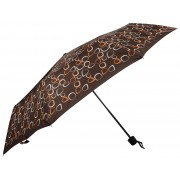 Doppler Hit mecanic pliere umbrela mini Amalia brown 700265PMCZ02