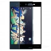 Protector de pantalla de cristal templado para Sony Xperia XZ - negro
