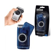 Braun Pocket Go M60B MobileShave Portable Grooming Shaver - Size: One Size