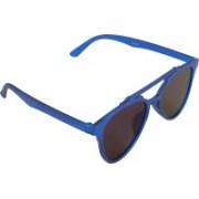 Qwerty Cat-eye Sunglasses(Blue)