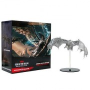WizKids Dungeons & Dragons Icons of the Realms Elemental Evil Silver Dragon Premium Figure