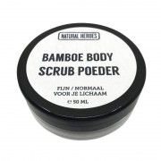 Natural Heroes Bamboe BODY Scrub Poeder (50 ml)