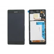 LCD + Touchscreen Original SONY Xperia Z3 Dual / D6633 / D6643 (Negru)