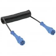Spiralni kabel za povezivanje SecoRüt s 7-polnom utičnicom, 24 V, tip N 40530