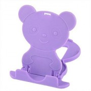 Mobile Stand (Pack of 2) Teddy Bear Style For All Mobiles Best Quality Best Fit Universal Adjustable Foldable 4 Angles