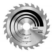 Bosch Lama 130 Mm 20 Denti Per Sega Circolare Optiline 130x20x2,4 Mm