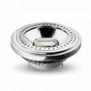 V-TAC Faretto Downlight LED G53 15W COB 20° AR111 da Incasso