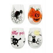 Bicchieri Halloween: Set da 4