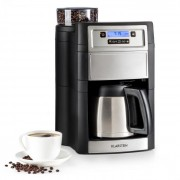 Klarstein Aromatica II Thermo, кафе машина, кафемелачка, 1.25 л, сребриста (KG13-Aromatica II tS)