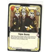 Killer Bunnies Promo Card: Odyssey Promo Cards: Triple Bunny Yellow #Ay61