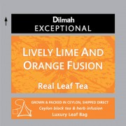 Dilmah Lively Lime and Orange fusion lime és narancs ízesítésű fekete tea 50db/cs