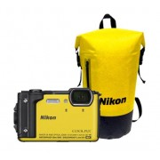 Nikon Coolpix W300 holiday kit geel