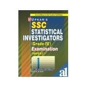 Ssc Statistical Investigator (Grade Iv) Exam. (For Paper-I)