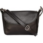 Bagged for Good BFG006B200BLK Messenger Bag(Black, 10 inch)