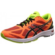 Asics Men's Gel-Ds Trainer 21 Nc Hot Orange, Black and Flash Yellow Running Shoes - 6 UK/India (40 EU) (7 US)