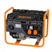 Generator de curent monofazat STAGER GG 2800, 2.2 kW, 4 timpi, benzina, 4500002800