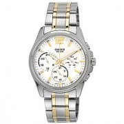 Casio Enticer Analog White Dial Womens Watch - MTP-E305SG-9AVDF (A997)