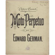 Moto Perpetuo [for Violin and Piano] GERMAN, Edward (1862-1936) [Buono]