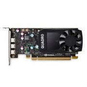 Видео карта за сървър, Dell NVIDIA Quadro P620, 2GB, 4 mDP, FH, Customer KIT, 490-BEQV