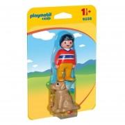 Playmobil 123 - Hombre Con Perro - 9256