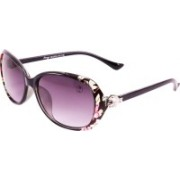 FOXY Over-sized Sunglasses(Violet)
