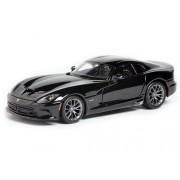 Maisto Dodge SRT Viper GTS, Black - 31271 1/24 Scale Diecast Model Toy Car