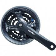 Angrenaj Acera FC-M361-L, 48x38x28T, Brat 170Mm Negru