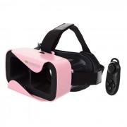Gafas 3D Reality 3D SHINECON + Consola Bluetooth - Rosa + Negro