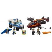 LEGO Furtul diamantelor cu poliția aeriană