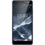 Смартфон NOKIA 5.1 DS BLUE, 5.5 инча 18:9 Full-HD+ IPS, Dual SIM, 2GB, 16GB, Син