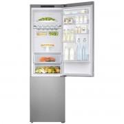Combina frigorifica Samsung RB37J5010SA, 367l, A+, No Frost, H 201 cm, Metal Grafit